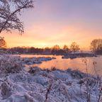 Winter am de Wittsee