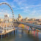 Die schönsten Seebrücken in Europa: Scheveningen