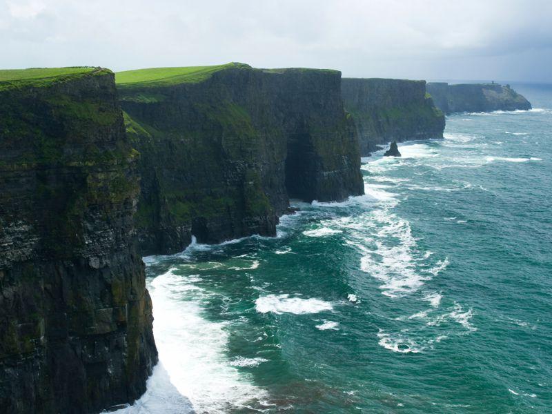 Spektakulär: Die Cliffs of Moher im Südwesten Irlands