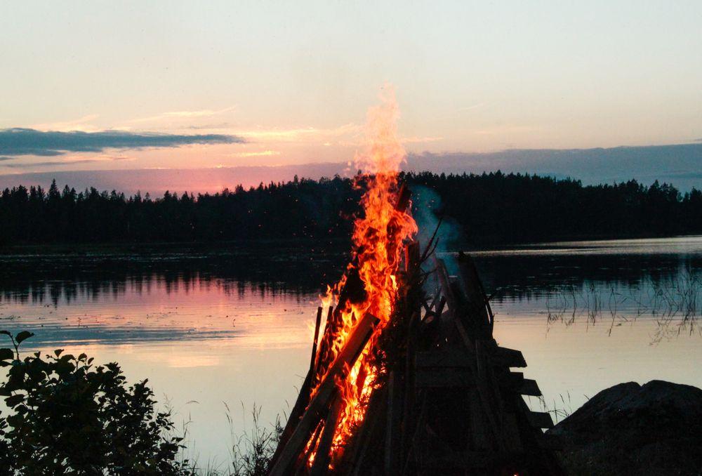Der Sommer in Skandinavien ist so kurz, dass die Menschen jede freie Minute nutzen um draußen zu sein.