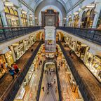 Shopping im Queen Victoria Building