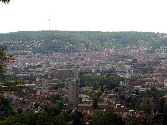 Stuttgart Bismarckturm Aussicht