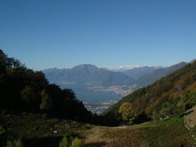 Blick auf Lago Maggiore