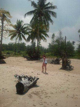 Einsamer Strand auf Kho Kho Khao