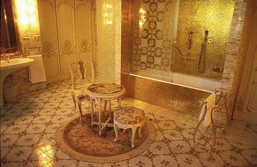 Badezimmer von Ceau?escu in Bukarest