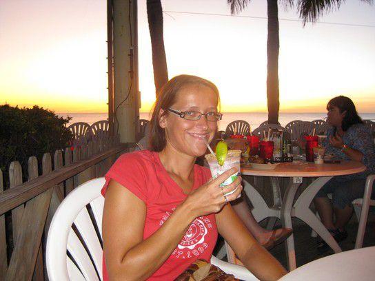 Dinner am Strand von Florida