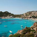 Bucht in Sardinien