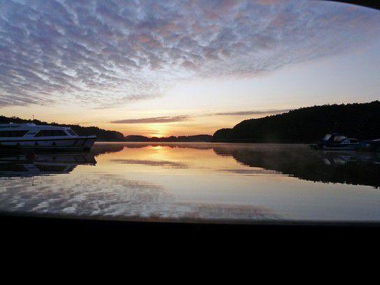 Sonnenuntergang in Buchholz
