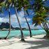 Strandidylle auf Bora Bora