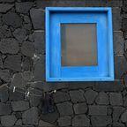 Das Fenster und die Wäscheleine