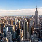 360°-Blick von der Dachterrasse des Rockefeller Center