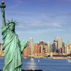 Platz 8: Metropolen wie New York oder die großen Nationalparks locken deutsche Touristen in die USA.