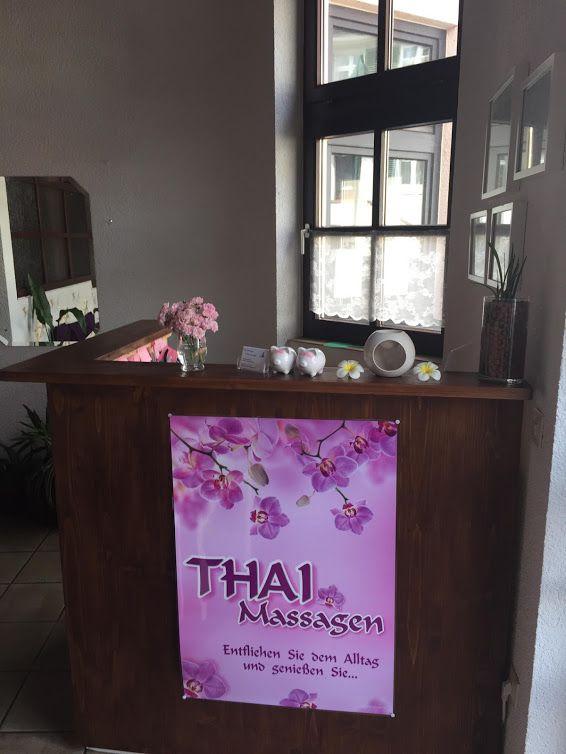Empfangsbereich Freiburger Thaimassage Herdern, Hauptstrasse 76