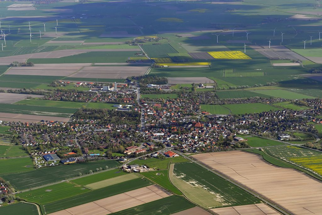 Die kleinsten Orte Deutschlands, Platz 10: Wesselburen
