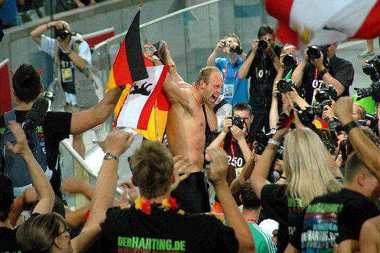 Weltmeister Robert Harting im Diskus