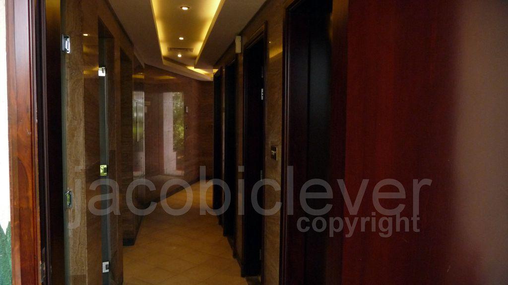 Hotel Kempinski - Beach Toilets, Strand WC´s