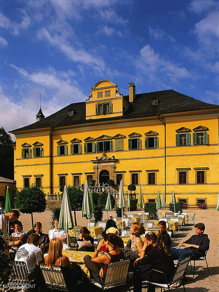 Gasthaus zu Schloss Hellbrunn
