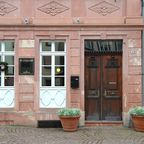 Eingang Kaffeehaus im Altstadtmarkt