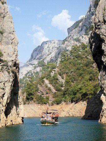 Bootsfahrt Köprülü-Canyon Türkei