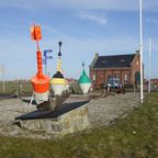 Der alte Seenot-Rettungsschuppen an der Harle