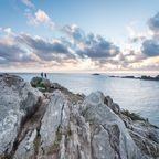 Aussicht am La Pointe du Grouin