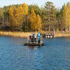 Repovesi-Nationalpark in Südfinnland: Abenteuerspielplatz mit Wassertaxi und Sauna
