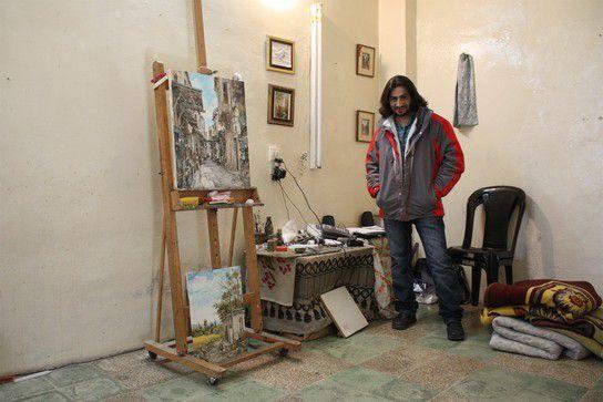 Ayman und sein Studio