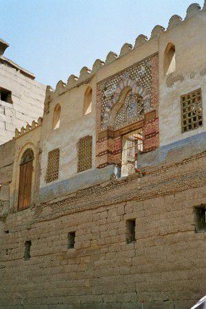 Kirchenreste in der Tempelanlage