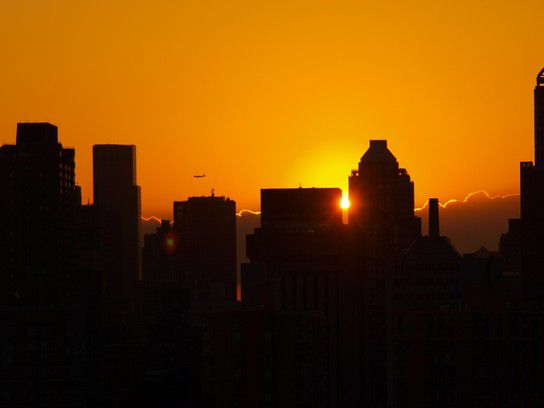 Sonnenuntergang New York