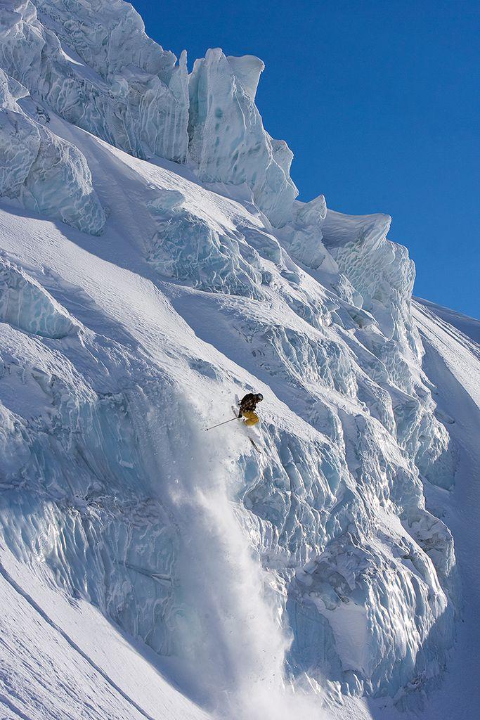 Extremsport: Ski fahren