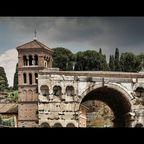 Rom, Janusbogen & San Giorgio in Velabro