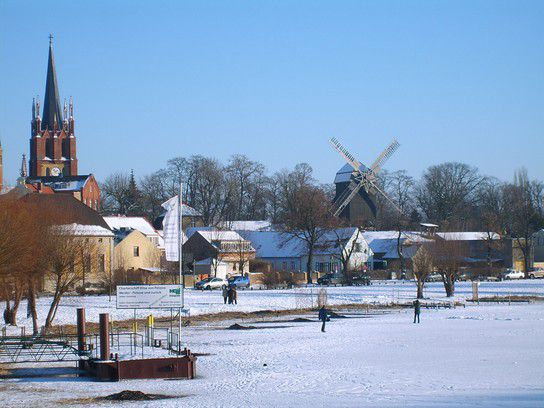 Werder ( Havel ) im Winter