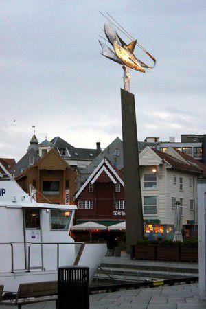 Die Straßen von Stavanger - Hafen