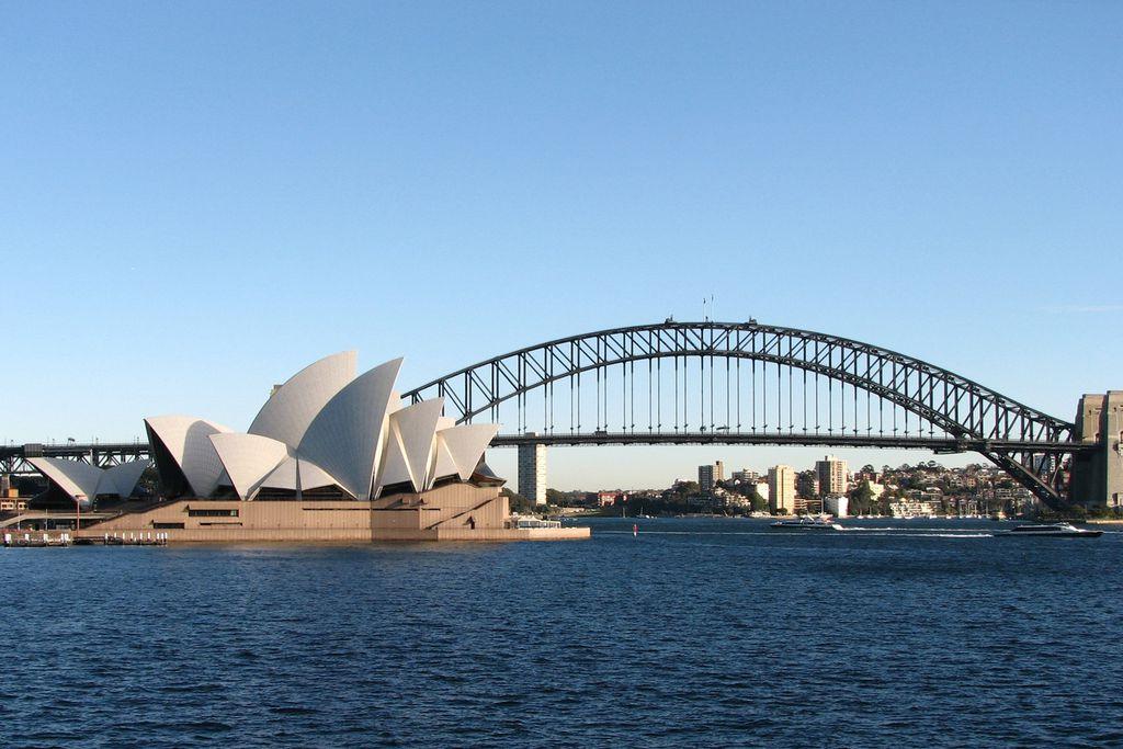 Opera House und Harbour Bridge