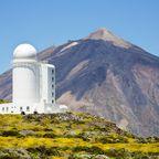 Observatorium, Pico de Teide auf Teneriffa