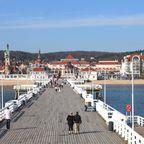 Die schönsten Seebrücken in Europa: Seebrücke Sopot