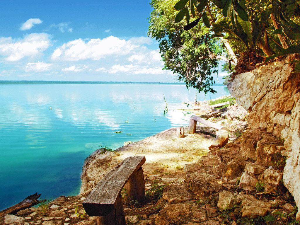 Bester Blick auf den Lago Petén Itzá