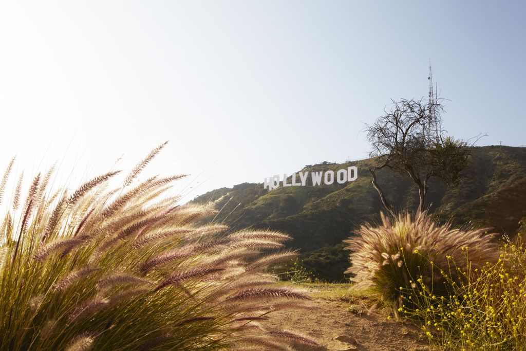 Hollywood-Schriftzug am Mount Lee