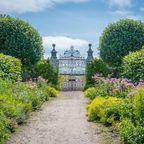 Idyllischer Garten beim Dunrobin Castle