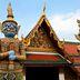Dämonen-Statuen im Tempel Wat Phra Kaeo