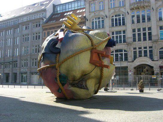 Kunst mitten in Berlin
