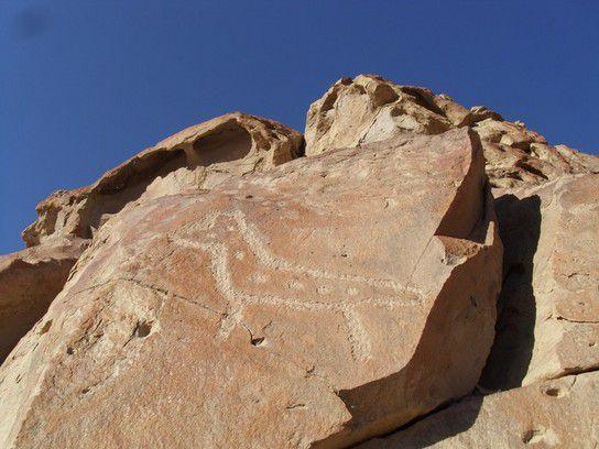 Petrogylphen in Peru