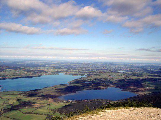 Blick vom Tegelberg (Allgäu)