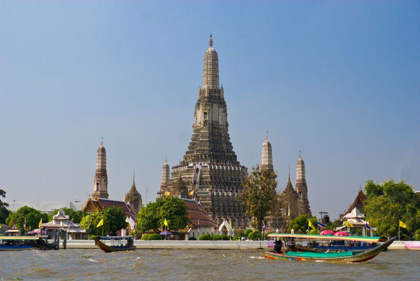 War Arun Tempel in Bangkok