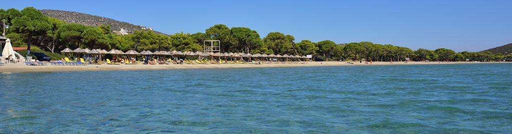 Schinias Beach bei Athen