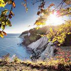 Herbstliche Kreideküste