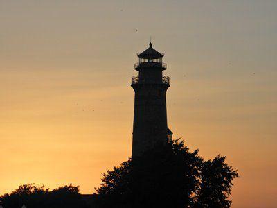 Sonnenuntergang am Kap Arkona