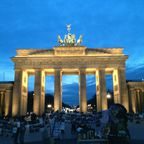 Abendstimmung am Brandenburger Tor