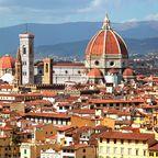 Blick auf den Duomi di Firenze