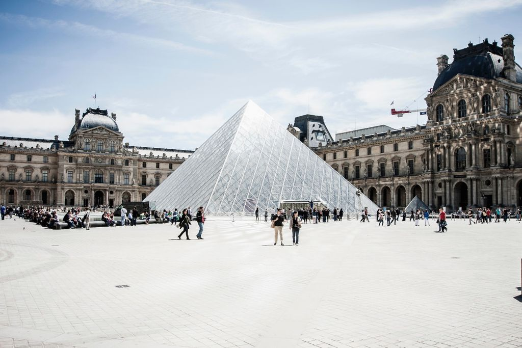Frühling in Paris: Louvre